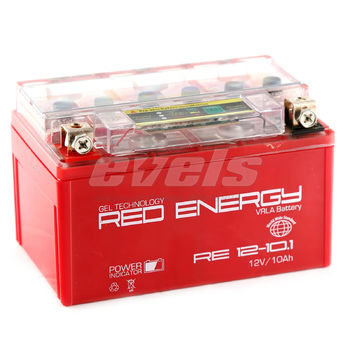 Red Energy RE12-10.1 (YTZ10S 10А/ч) зал.