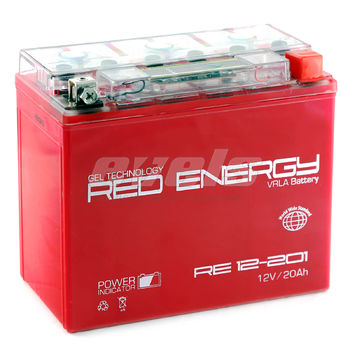 Red Energy RE12-201 (YTX20L-BS 18А/ч) зал.
